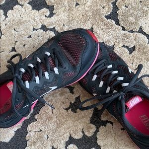 Nike sneakers size 7.5 pink and gray